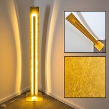 Illuminazione Lusso Lampada Terra Oro Luce LED 30 W Piantana Salotto Sala Dorato