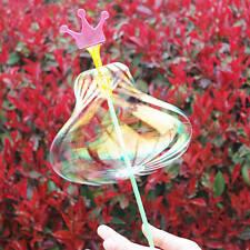 LED Flash Light Magic Stick Wand Ribbon Bubble Ball Rainbow Toy Party Birthday