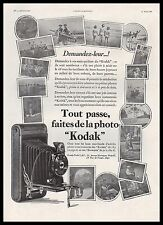 Publicité KODAK appareil photo vintage print ad  1930 - 1i