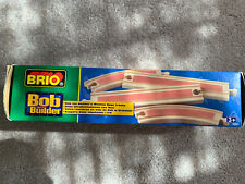 Brio Bob the Builder Wooden Railway System 2 Boxes Rare 2001 NEW NWT