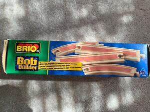 Brio Bob the Builder Wooden Railway System 2 Boxes Rare 2001 NEW NWT