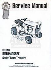 International Cub Cadet 76 80 182 282 382 Lawn Tractor Service Shop Manual