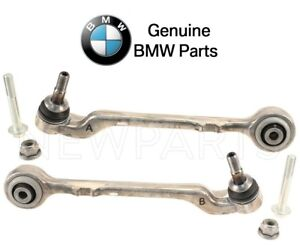 For BMW F22 F23 F30 F32 F33 Pair Set of 2 Front Rearward Control Arms Wishbones