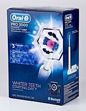 *Oral-B Pro 3000 3D White SmartSeries Electric Toothbrush *White Edition*