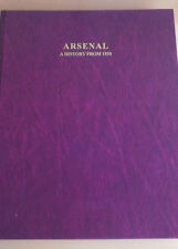 Arsenal collectors book - football gift RRP £49.99 NEW