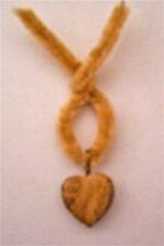 Picture Jasper Heart Pendant Gift Tie ~ Nice!