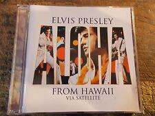 """CD ELVIS PRESLEY """" FROM HAWAII VIA SATELLITE"""""""