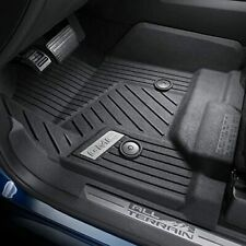 Factory OEM GM GMC Sierra 1500 2500 3500 Floor Mats Liners Black Front 84185474
