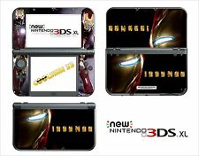 SKIN STICKER - NINTENDO NEW 3DS XL - REF 162 IRON MAN