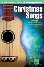 Christmas Songs Sheet Music Ukulele Chord SongBook NEW 000101776