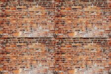 2019 NEW OLD BRICK WALLS 3 SHEETS (8 X10.5)DECALS TRUE Scale 1:18-1:24 Diorama