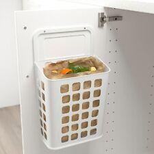 Ikea VARIERA  Waste Bin Kitchen Bathroom Organizer Unit Plastic 10L