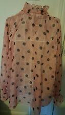 Zara pink top xl