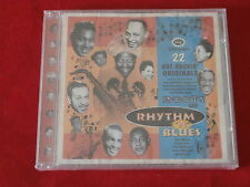 ROOTS OF RHYTHM N BLUES~22 HOT ROCKIN ORIGINALS~SEALED COPY~MINT~~R & B~CD