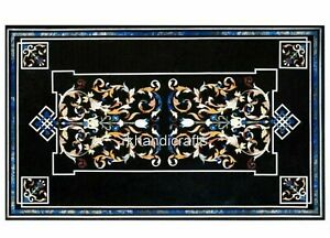 30 x 48 Inches Marble Hallway Table Top Peitra Dura Art Coffee Table Home Decor