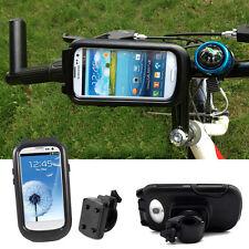 Waterproof Bike Bicycle Handlebar Mount Holder Case for Samsung Galaxy S3 S4