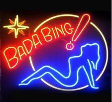 "New Bada Bing Girl Wall Decor Lamp Neon Light Sign 20""x16"""
