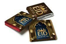 Personalised Chocolate Neapolitan squares EID Mubarak- V5