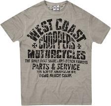 West Coast Choppers T Shirt  in grau Modell Dealer