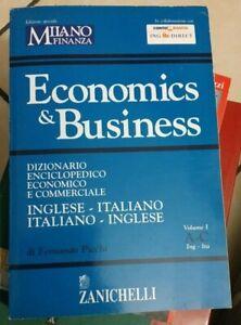 ECONOMICS & BUSINESS DIZIONARIO ENCICLOPEDICO ECONOMICO Picchi 2004 ZANICHELLI