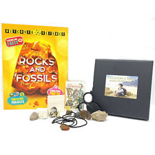 More details for childrens rock and fossil set gift box ✔100% genuine ✔uk seller