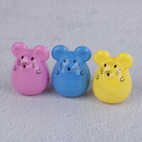 2pcs Kawaii lovely plastic mouse manual pencil sharpener stationery g JR