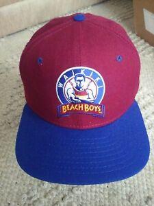 Vtg WAIKIKI BEACH BOYS Hawaii Winter Baseball NEW ERA Snapback HAT NOS pro model