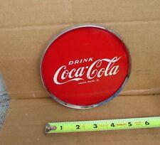 Vintage 1950's Coke Coca Cola Disc Disk Dispenser Tombstone Motor boat