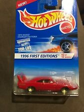 1970 DODGE CHARGER DAYTONA, Hot Wheels 1996 First Edition #3 of 12 7SP variation