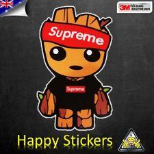JDM Groot Punk 3M Reflective Car Skateboard Luggage Laptop Vinyl Decal Sticker