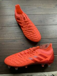 adidas Predator XP SG Soft Ground Cleats Men's Size 11.5 Coral/ Scarlett EF3480