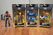 Marvel Legends Jim Lee X-Men Lot - Beast, Jubilee, Forge, Bishop