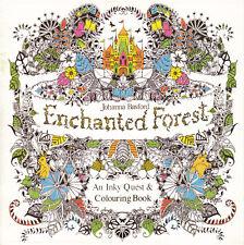 "Malbuch ""Enchanted Forest"""