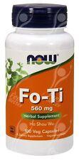 Now Foods Fo-Ti (HO Shou Wu ) - 560mg x100Vcaps