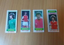"4 TOPPS FOOTBALL CARDS-1980-ARSENAL-JENNINGS/HOLLINS/SUNDERLAND/O""LEARY"