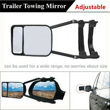 1*Adjustable Towing Mirror Clip-on Towing Mirror Wide View For SUV Truck Trailer