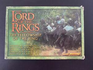 GW Lord Of The Rings Ambush At Amon Hen Metal Box Set NEW Fellowship In Box