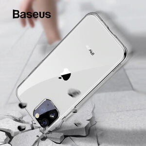 BASEUS Case Cover Transparent ShockProof Soft TPU for iPhone 11 12 mini Pro Max