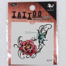 New Design Temporary Tattoo Body Tatoo Sticker Woman Flower Transfer Tattoos 1pc