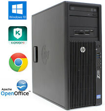 HP Z220 WorkStation CMT Xeon E3-1225v2 3.20GHz 8GB RAM 500GB HD Windows 10 Pro