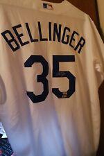 Cody Bellinger Autographed Dodgers White Authentic Majestic Jersey Fanatics COA