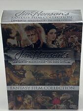Jim  00006000 Henson's Fantasy Film Collection Box (Dvd, 2006) w/ Labyrinth Mini Manga