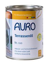 Terrassenöl 110 Lärche Auro 2,5l -  Holzschutz Öl Hartöl Pflege Holzöl Möbelöl