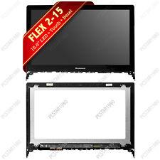"""Lenovo Flex 2-15 15D 5941826 15.6"""" LCD Touch Screen Digitizer Bezel 20405 FAST!!"""