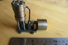 Small 3 inch wide Marine Model Live Steam Engine or other use Scratch built