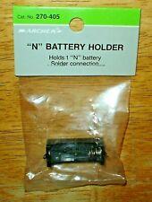 """Nos Radio Shack Archer No. 270-405 """"N"""" Battery Holder Solder Connection Japan"""