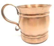 VINTAGE GREGORIAN SOLID COPPER MOSCOW MULE DRINKING CUP MUG STEIN MADE IN USA