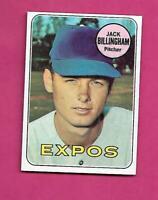 1969 TOPPS # 92 EXPOS JACK BILLINGHAM  NRMT-MT CARD (INV# C5246)
