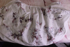 OILO BEAUTIFUL PINK FLORAL BASSINET FITTED COTTON KNIT SHEET EUC