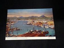 Cartolina a view of fishing Harbour at Shimonoseki City